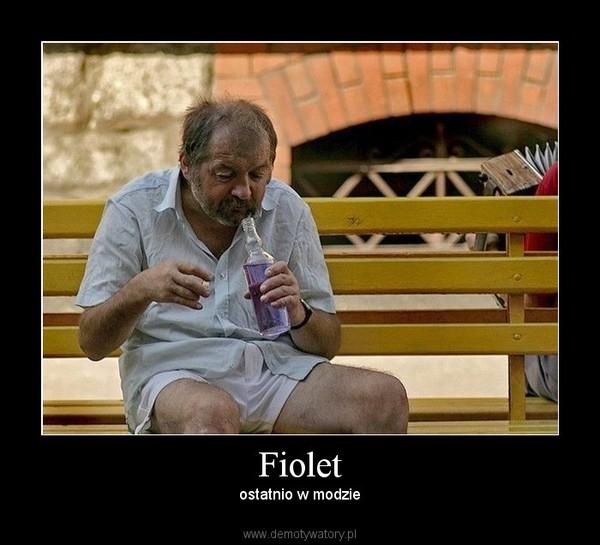 Fiolet – ostatnio w modzie