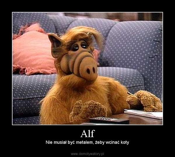 Alf – Nie musiał być metalem, żeby wcinać koty