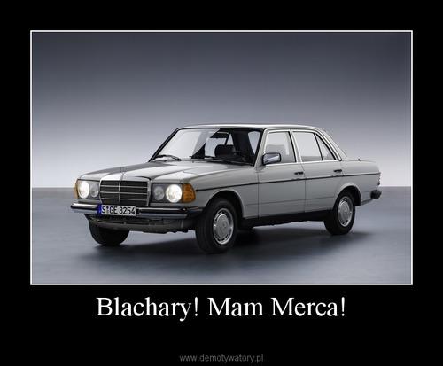 Blachary! Mam Merca!