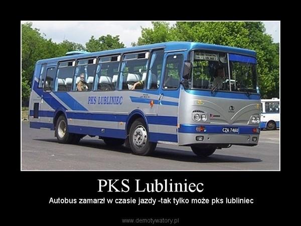 PKS Lubliniec –  Autobus zamarzł w czasie jazdy -tak tylko może pks lubliniec