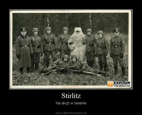 Stirlitz – Na akcji w terenie