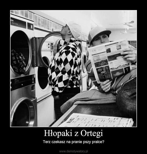 Hłopaki z Ortegi – Terz czekasz na pranie pszy pralce?