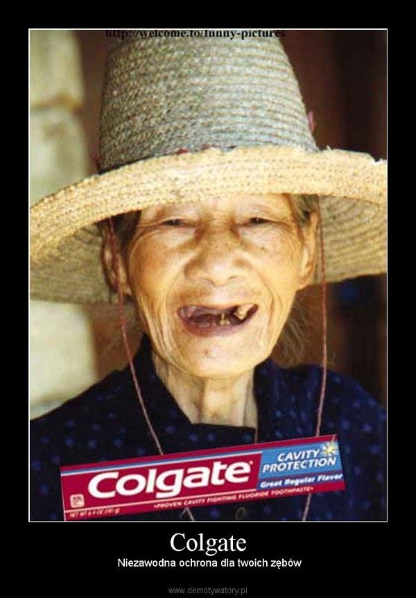 Colgate –  Niezawodna ochrona dla twoich zębów