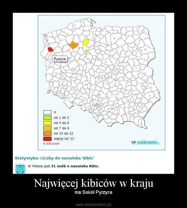 Najwięcej kibiców w kraju – ma Sokół Pyrzyce