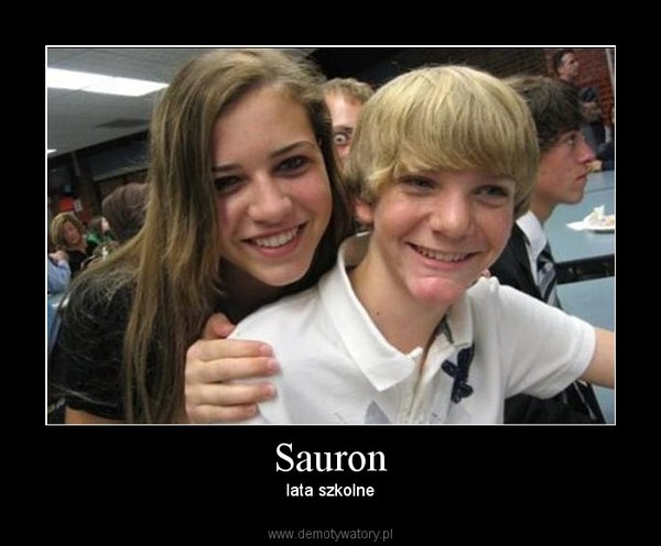 Sauron – lata szkolne