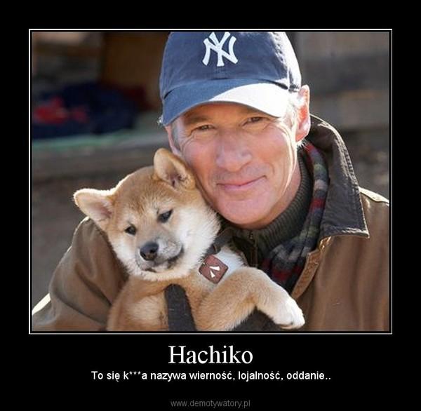 Hachiko – To się k***a nazywa wierność, lojalność, oddanie..
