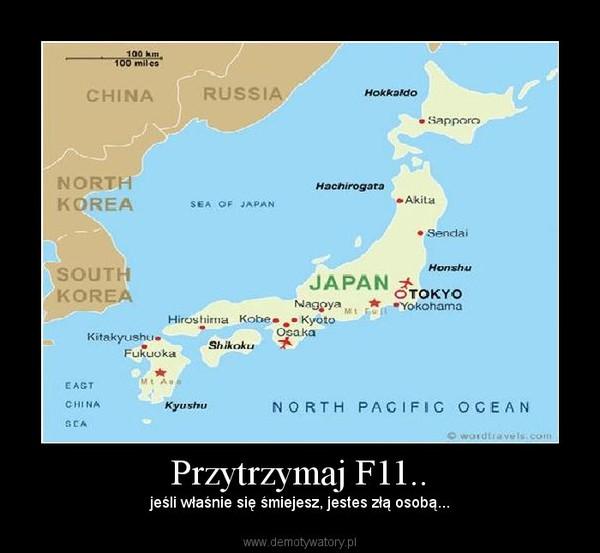 Przytrzymaj F11.. – jeśli właśnie się śmiejesz, jestes złą osobą...