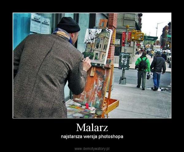 Malarz – najstarsza wersja photoshopa