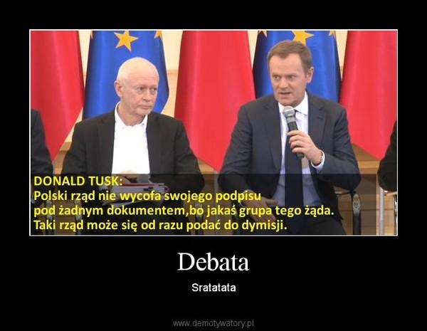 Debata – Sratatata