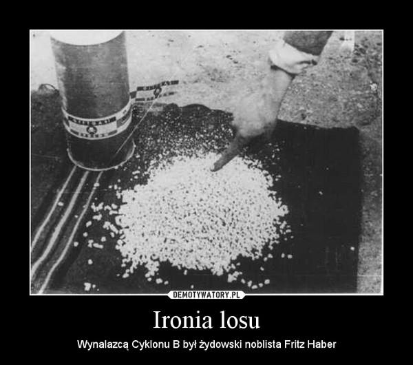 Ironia losu – Wynalazcą Cyklonu B był żydowski noblista Fritz Haber