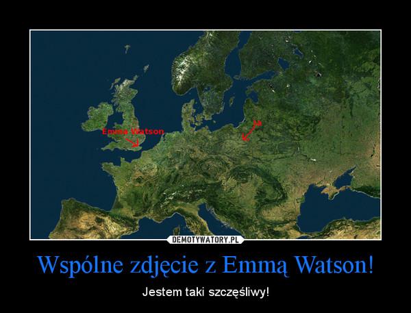 Wspólne zdjęcie z Emmą Watson! – Jestem taki szczęśliwy!