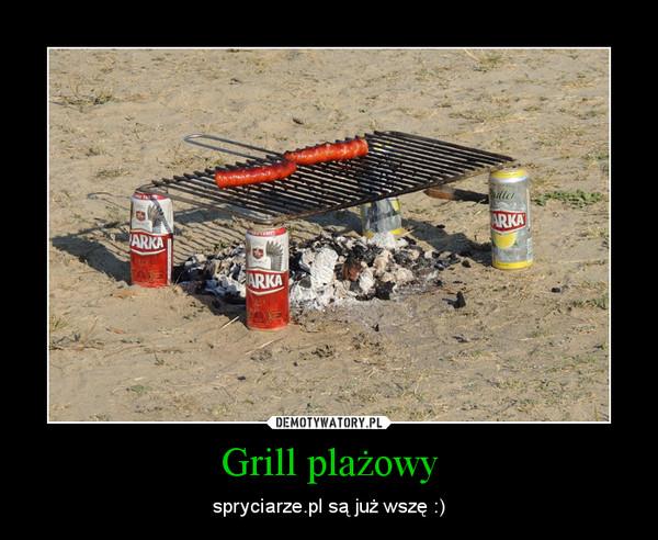 Grill plażowy – spryciarze.pl są już wszę :)