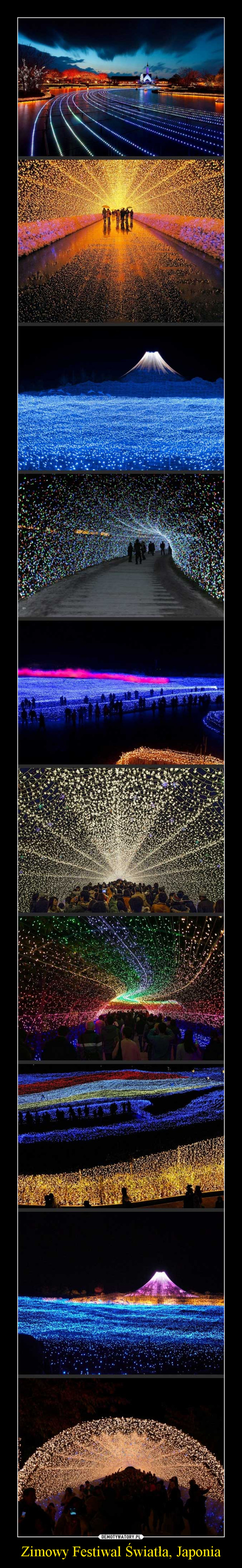 Zimowy Festiwal Światła, Japonia –