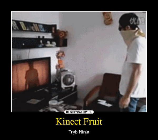 Kinect Fruit – Tryb Ninja