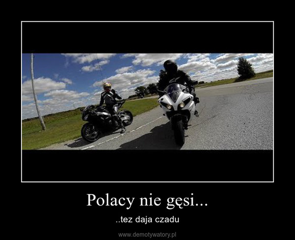 Polacy nie gęsi... – ..tez daja czadu