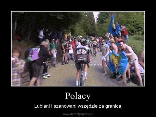 Polacy – Lubiani i szanowani wszędzie za granicą