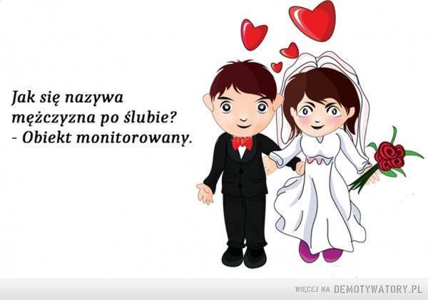 Mężczyzna po ślubie –