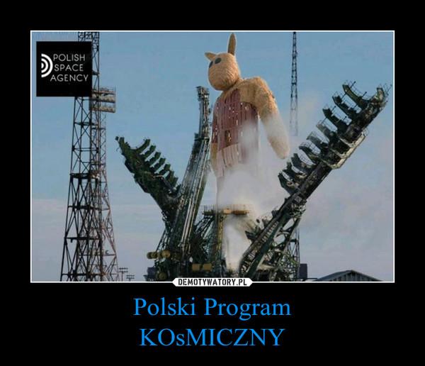Polski ProgramKOsMICZNY –