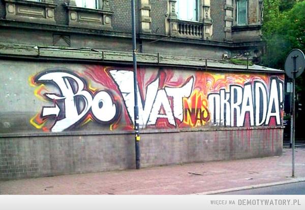 Ściany mówią: –