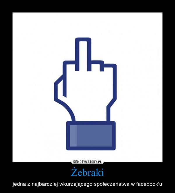 Żebraki – jedna z najbardziej wkurzającego społeczeństwa w facebook'u
