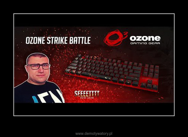 Unboxing: Ozone STRIKE Battle (Klawiatura) –