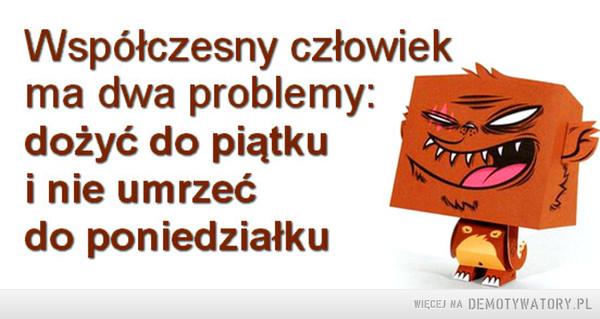 Dwa problemy –