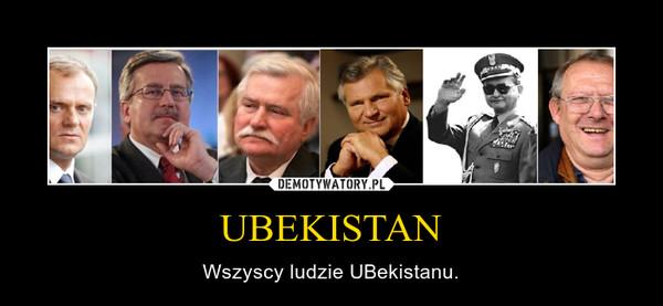 UBEKISTAN – Wszyscy ludzie UBekistanu.