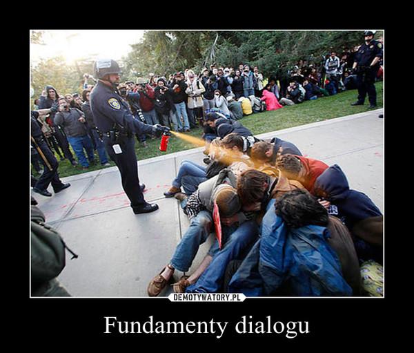 Fundamenty dialogu –