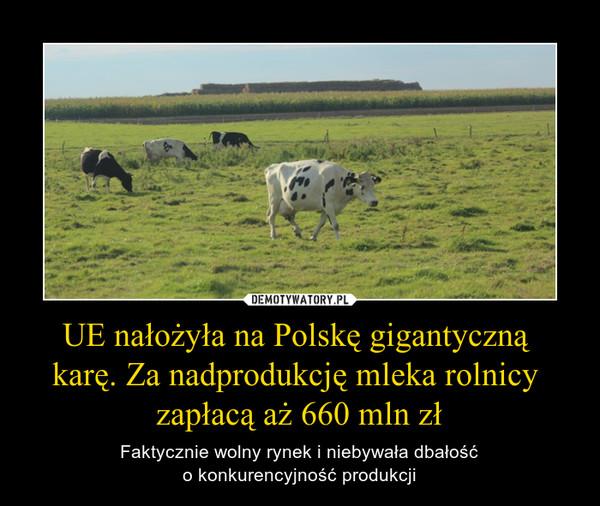 UE nałożyła na Polskę gigantyczną karę. Za nadprodukcję mleka rolnicy zapłacą aż 660 mln zł – Faktycznie wolny rynek i niebywała dbałośćo konkurencyjność produkcji