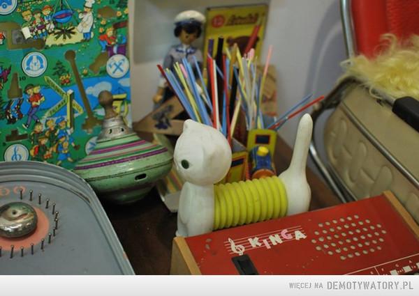 Kiedyś na biurku –