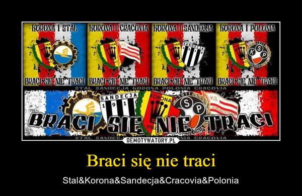 Braci się nie traci – Stal&Korona&Sandecja&Cracovia&Polonia