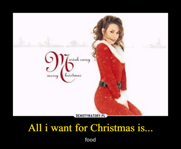 All i want for Christmas is... – food