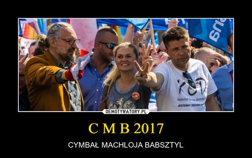 C M B 2017