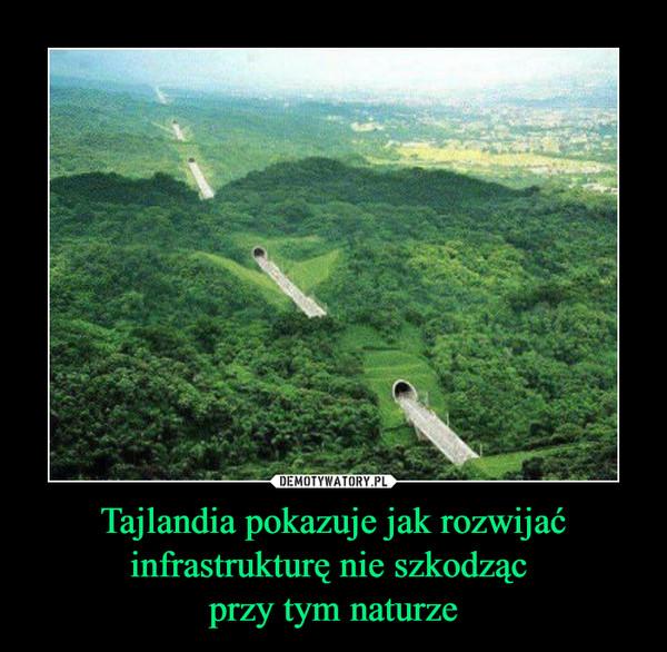 Tajlandia pokazuje jak rozwijać infrastrukturę nie szkodząc przy tym naturze –