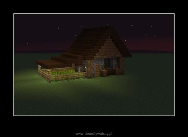 Jak zbudować mały prosty domek z farmą w minecraft –