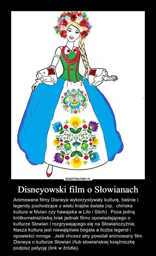 Disneyowski film o Słowianach