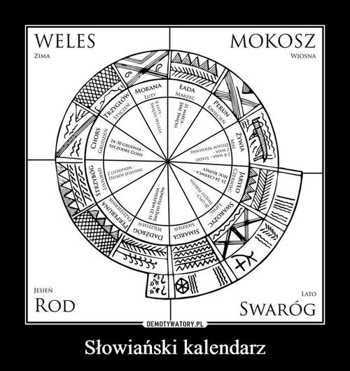 Słowiański kalendarz