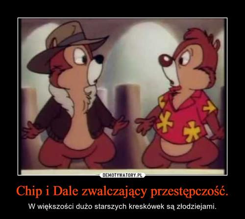 Chip i Dale zwalczający przestępczość.