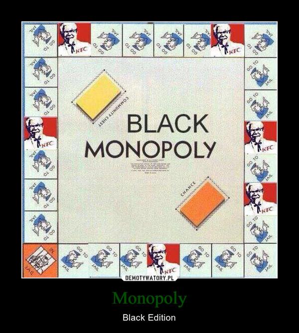 Monopoly – Black Edition