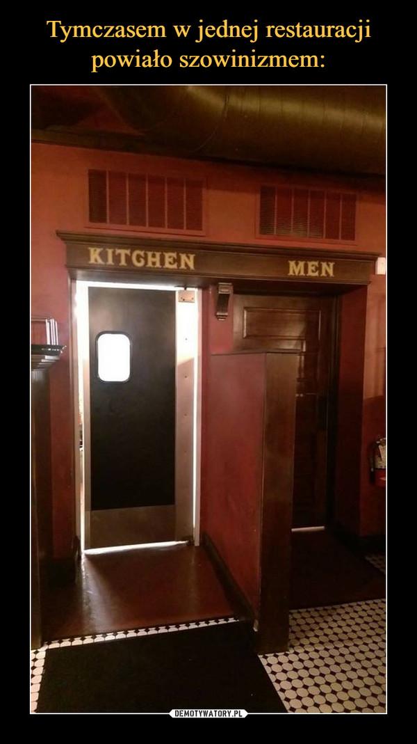 –  Kitchen men