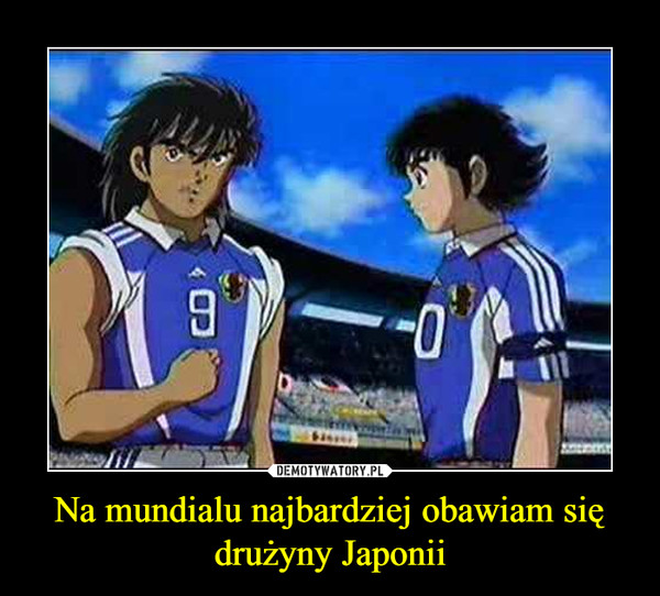 Na mundialu najbardziej obawiam się drużyny Japonii –
