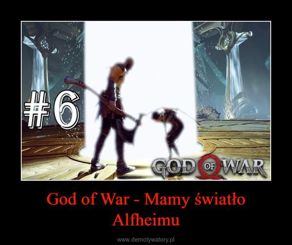 God of War - Mamy światło Alfheimu –