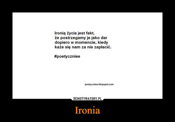 Ironia –