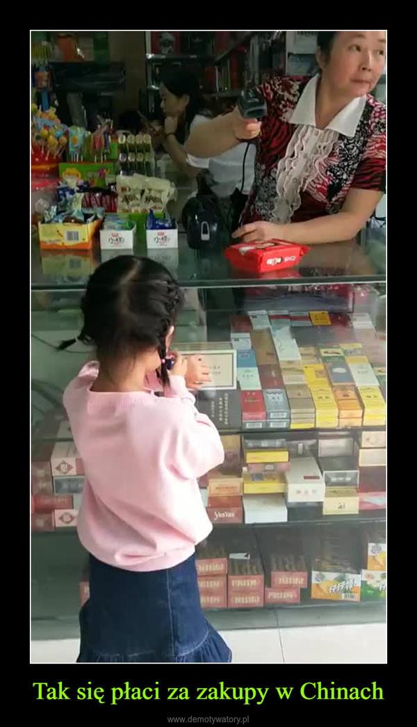 Tak się płaci za zakupy w Chinach –