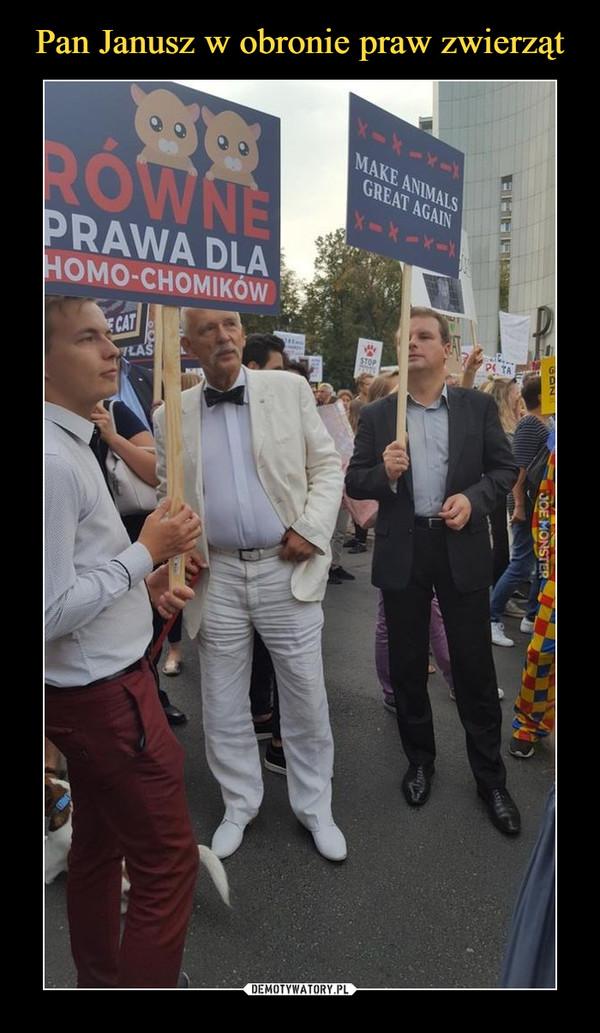 –  równe prawa dla homo-chomików