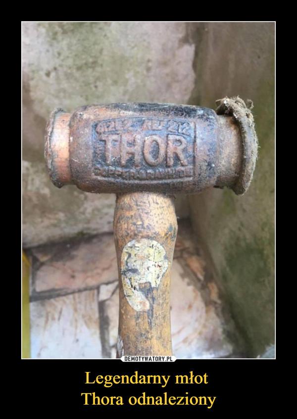 Legendarny młot Thora odnaleziony –
