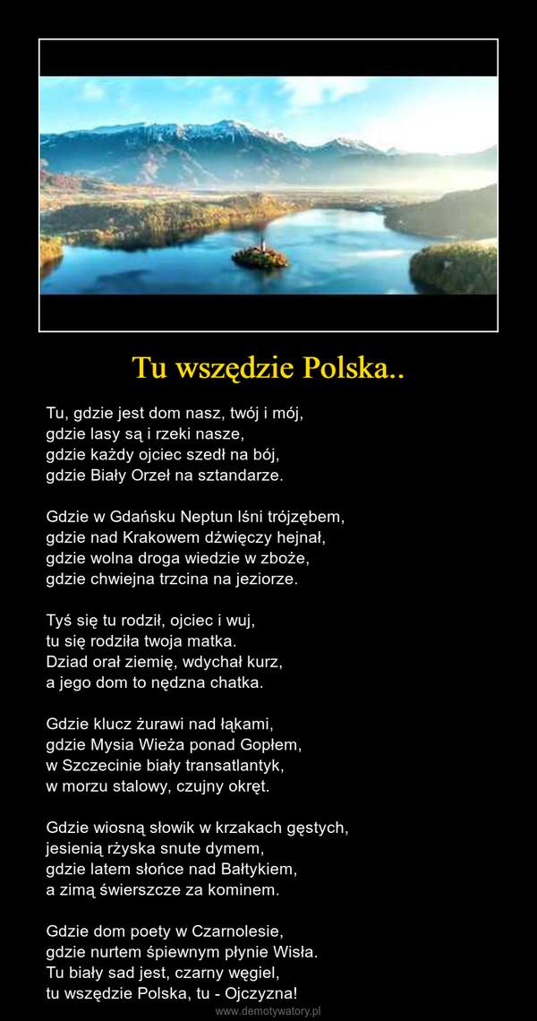 Tu Wszędzie Polska Demotywatorypl