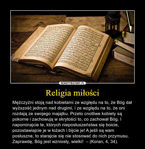 Religia miłości