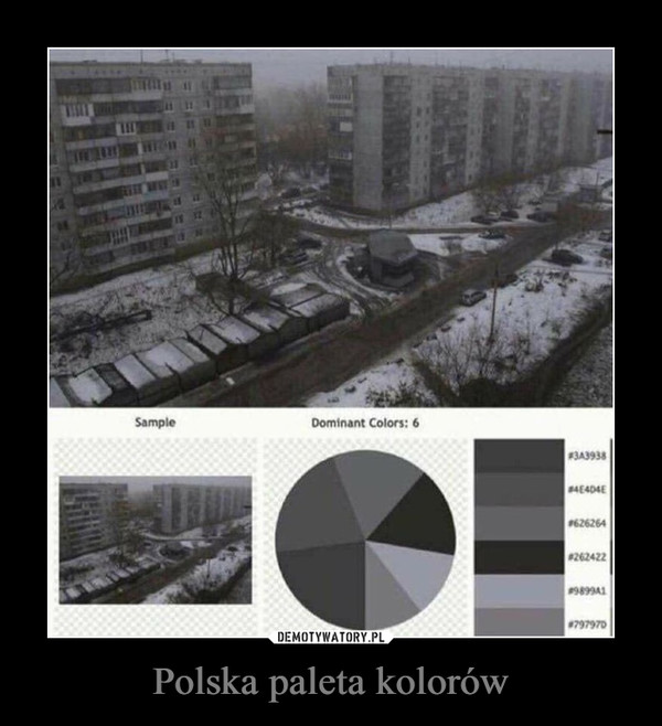 Polska paleta kolorów –