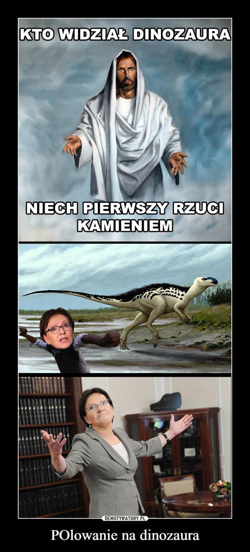 POlowanie na dinozaura –